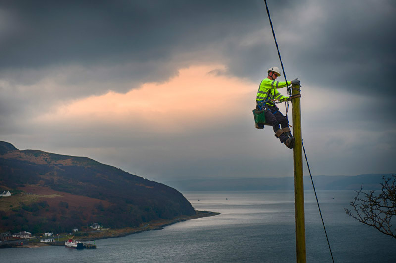 Power Company shoot - Commissions and Commercial Photography
