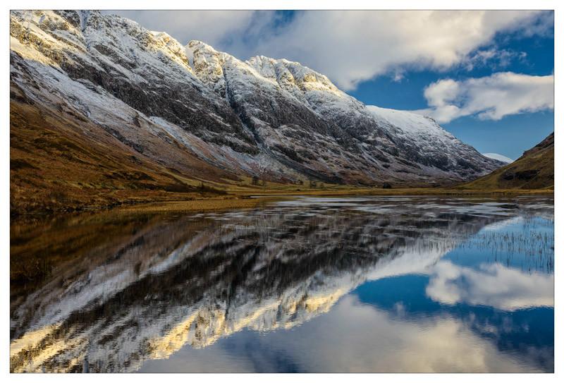 Reflections of Glencoe - The Light Captured
