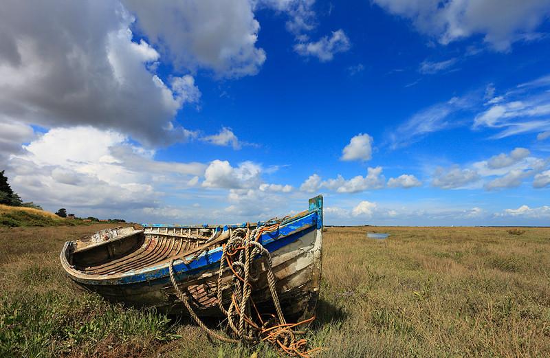 Rope and boat - Burnham Deepdale