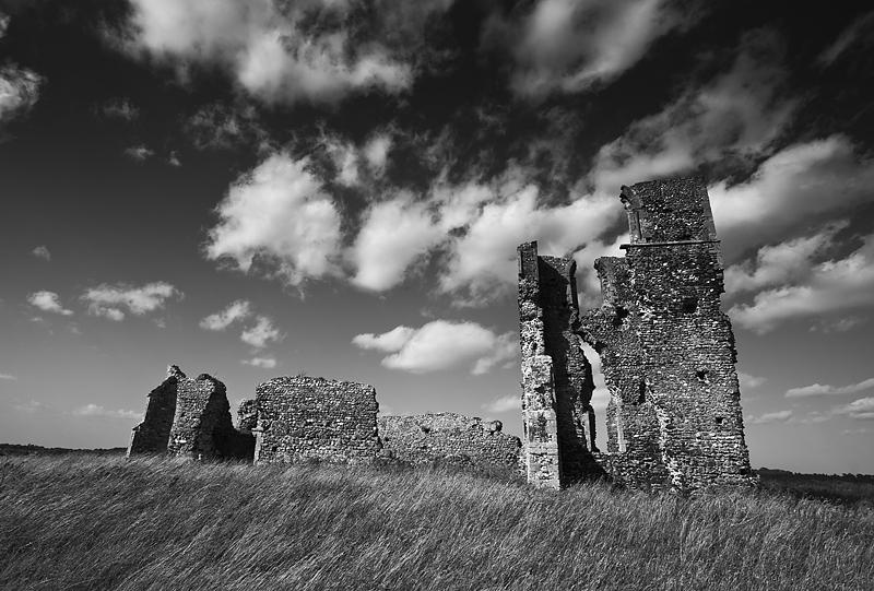 Bawsey. - Ruins