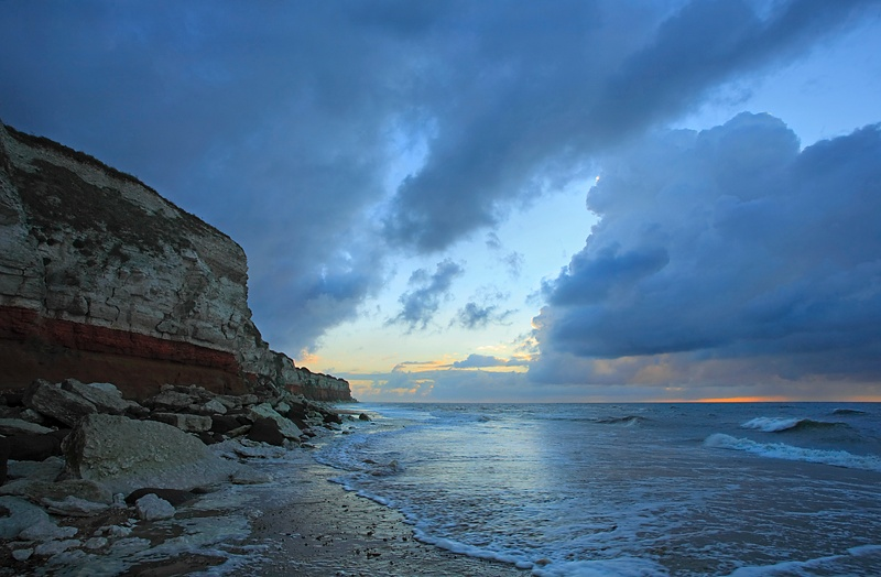 Cliff and cloud - Hunstanton