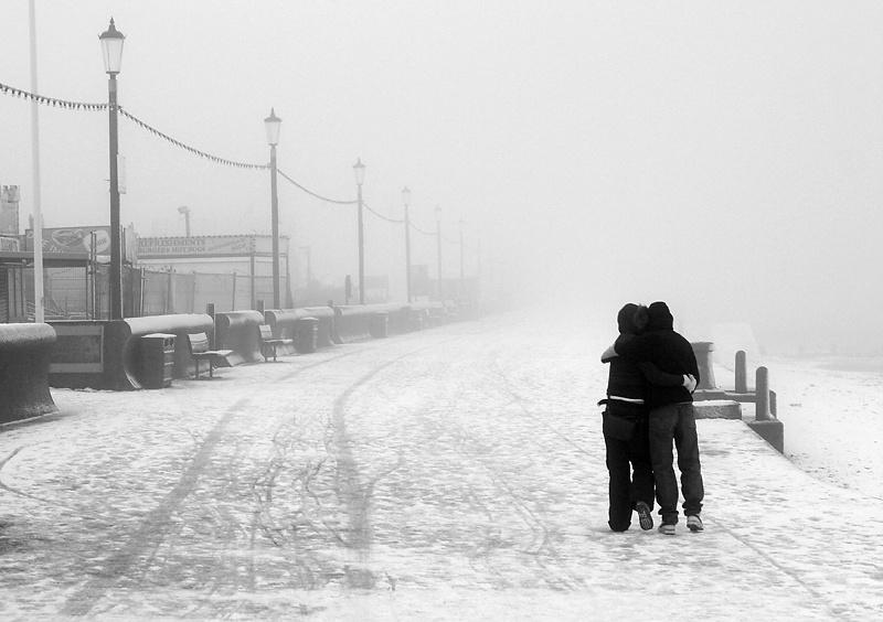 Freezing Fog - Hunstanton