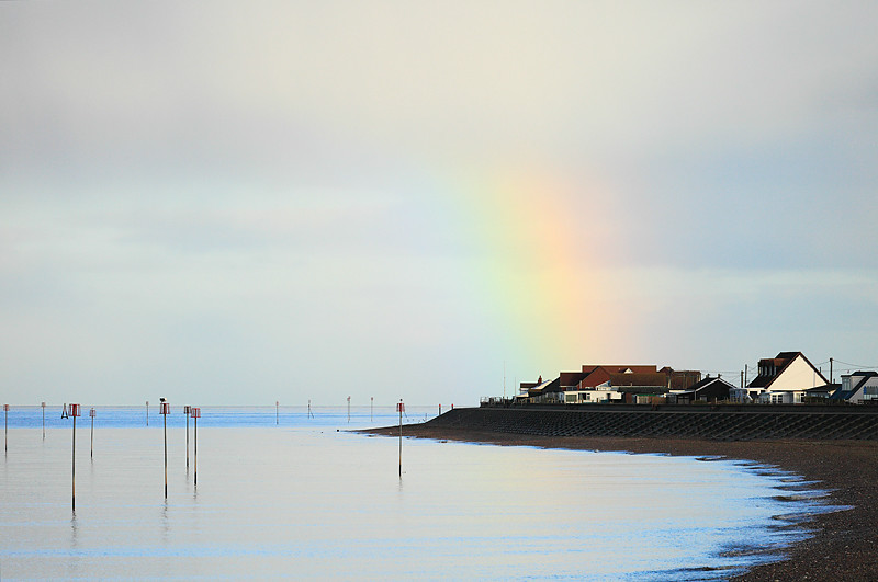 North Beach Rainbow - Heacham