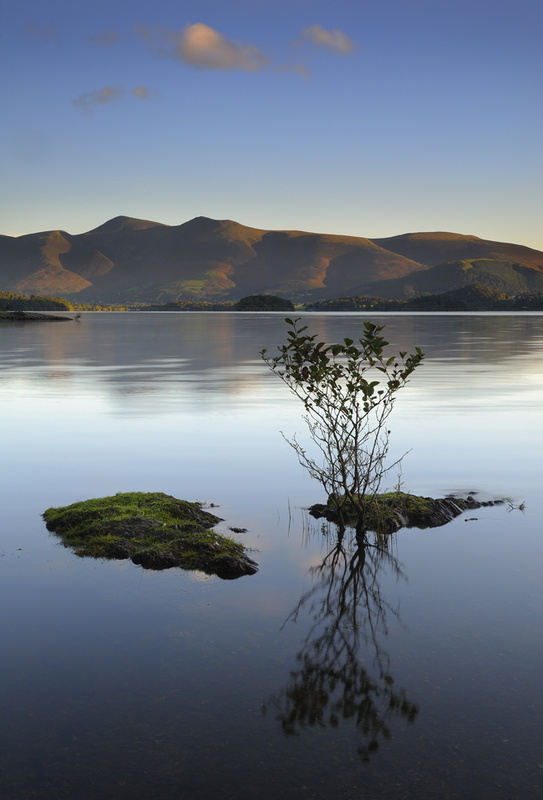 Reflections, Derwent Water - Cumbria - Cumbria
