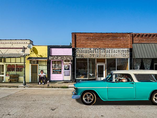 - MAIN STREET, SMALL TOWN AMERICA
