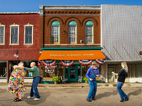 - MAIN STREET, SMALL TOWN AMERICA
