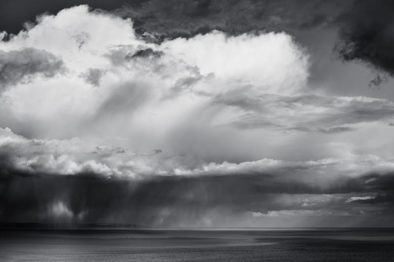 Cloudburst - Black & White
