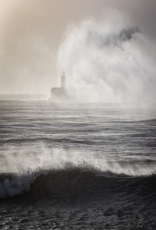 Storm Imogen, Newhaven, West Sussex