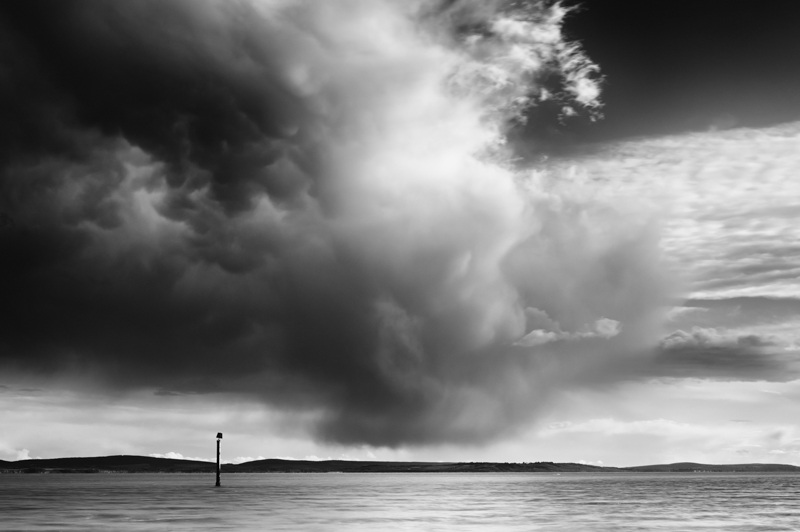 Black and White landscape photography of Pembrokeshire