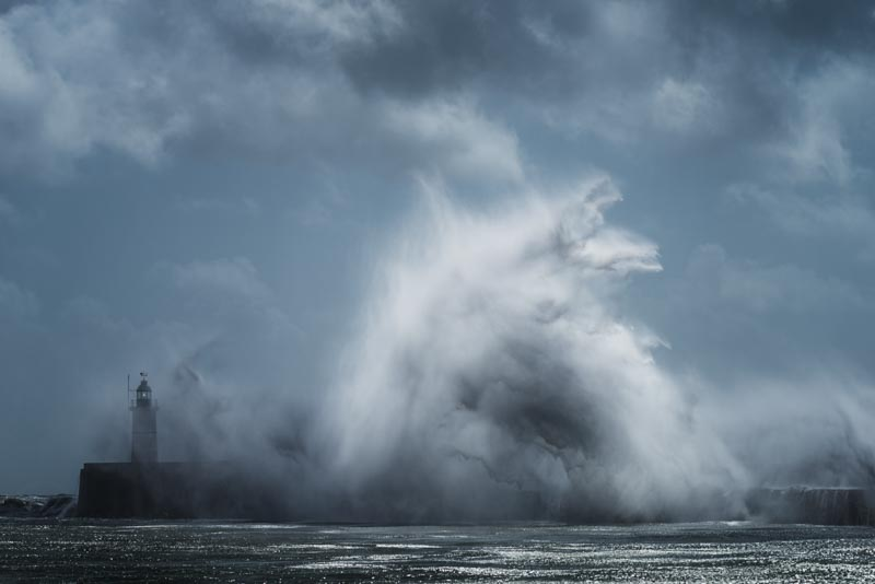 Newhaven, Sussex: Summer storm