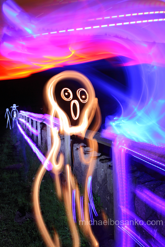 Illuminating Edvard Munch's 'The Scream' - Illuminating artists