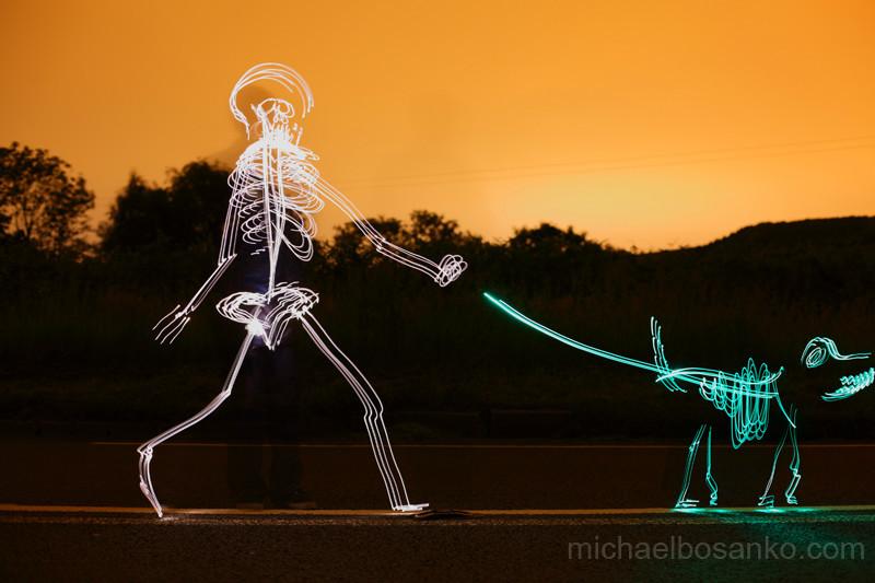 Jus' Walkin' The Dawg - Dem Bones