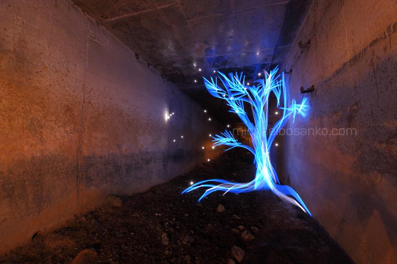 light graffiti, michael bosanko, light painting, light sculpting