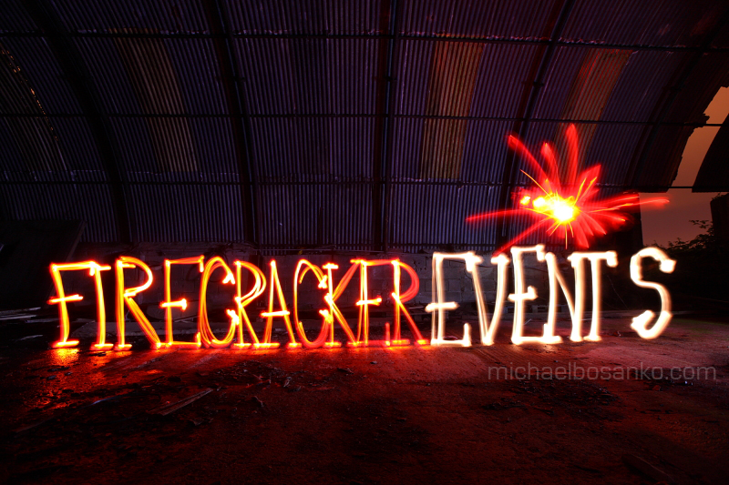 Firecracker Events - Font/Logo