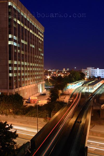 Queen Street Station - Night Trails
