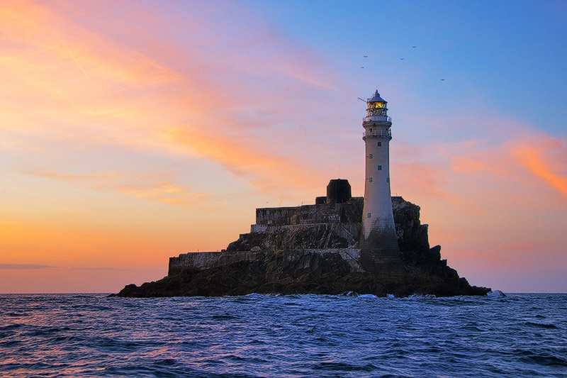 Fastnet Lighthouse - Seascapes Ireland