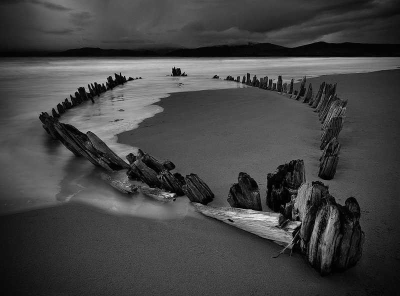 Wreck of the Sunbeam 2 - Black and White