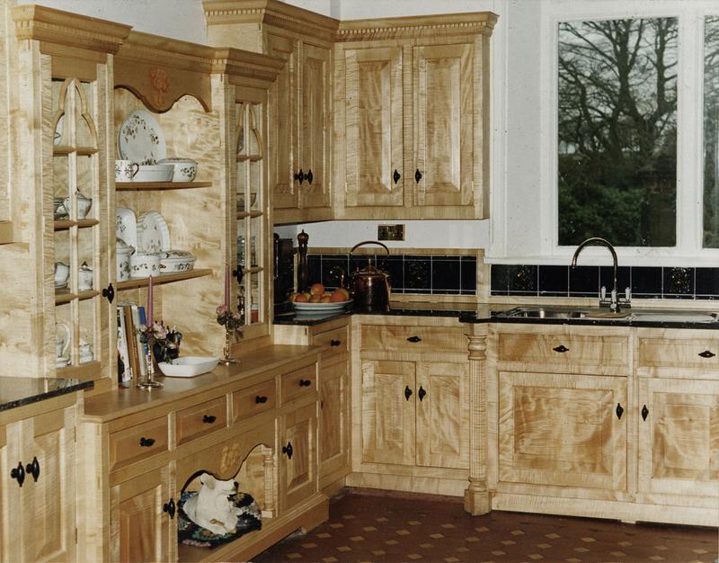 Bespoke kitchen commissions handmade kitchen commissions for Handmade kitchens