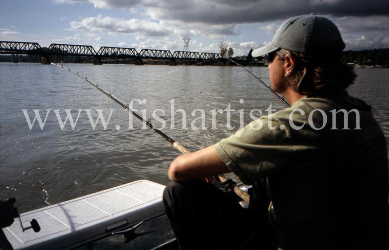 Sturgeon Fishing. - Sturgeon of the Fraser River.