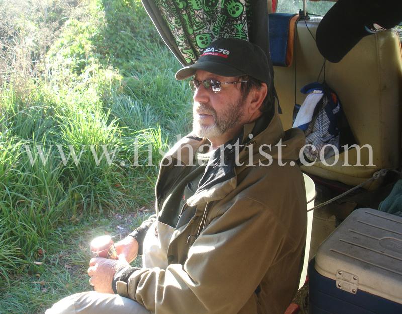 David Aka (Hama). - Fishermen of Taupo.
