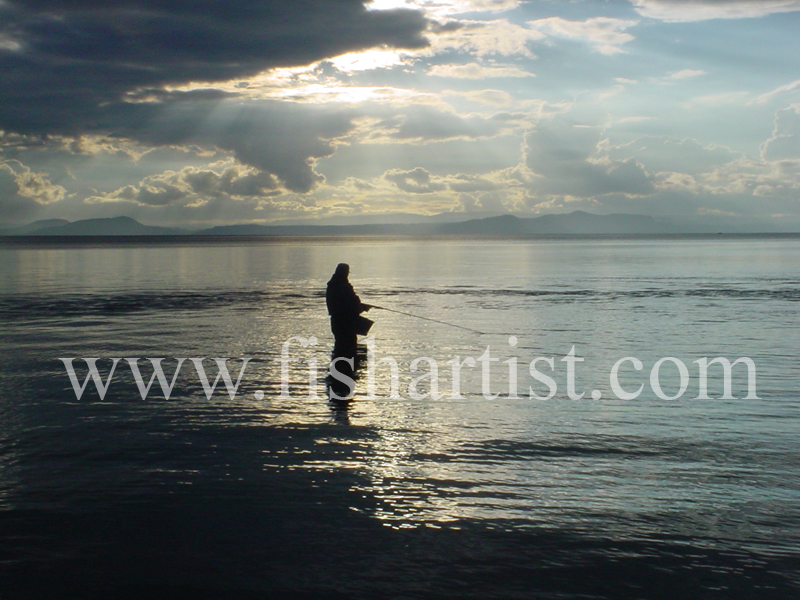 Silver Sky in Taupo. - Trout Fishing - Taupo New Zealand.