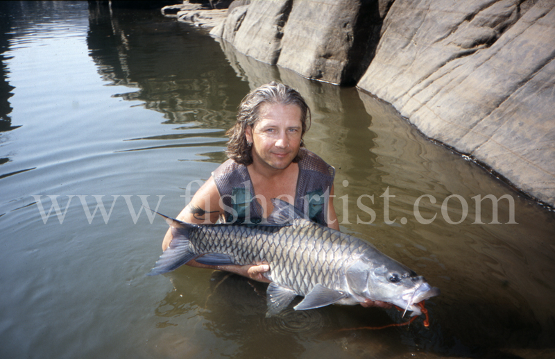 Mahseer Moment. - Mahseer Fishing India.