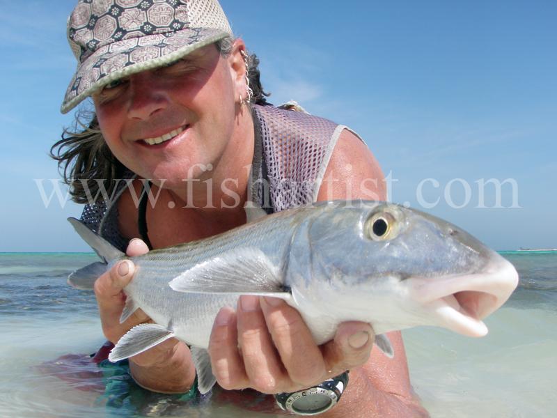 Closeup Bonefish 2010. - Bonefishing 2010.