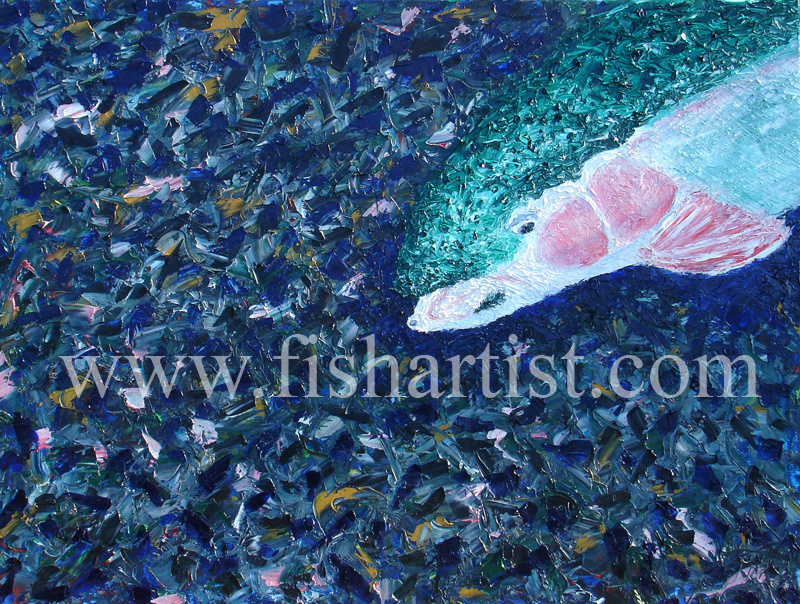 Waitahanui Hen - Lake Taupo. - Fish Art for Fishermen.