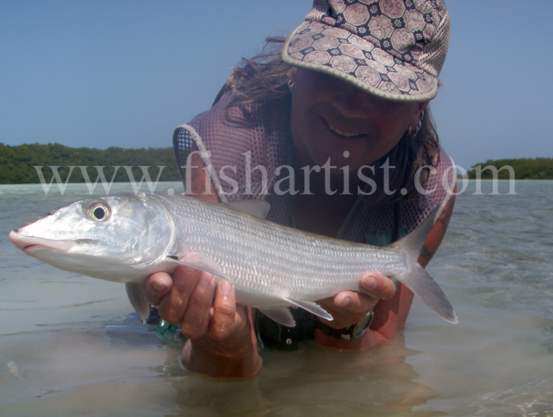 Lagoon Bonefish 2010. - Bonefishing 2010.
