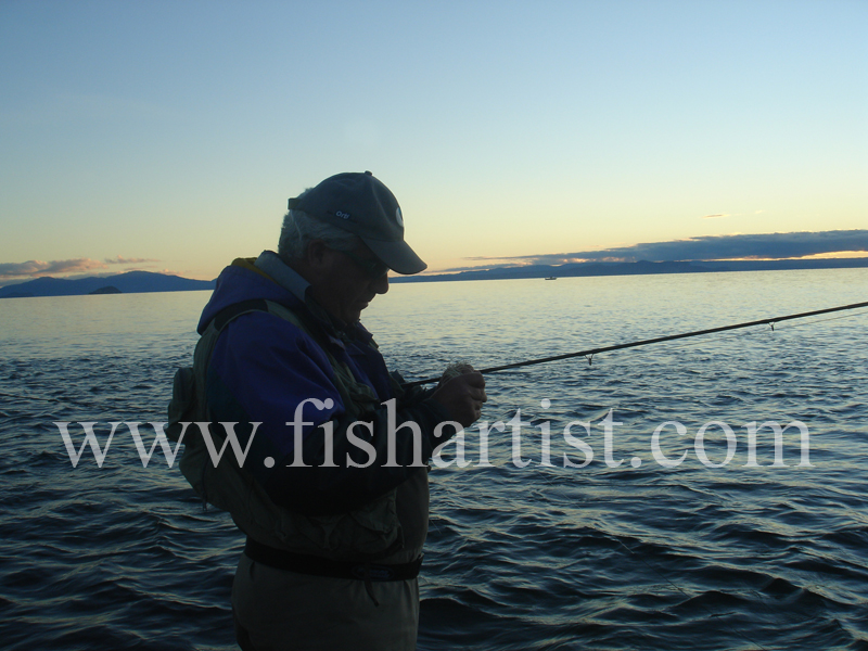 Jerry. - Fishermen of Taupo.