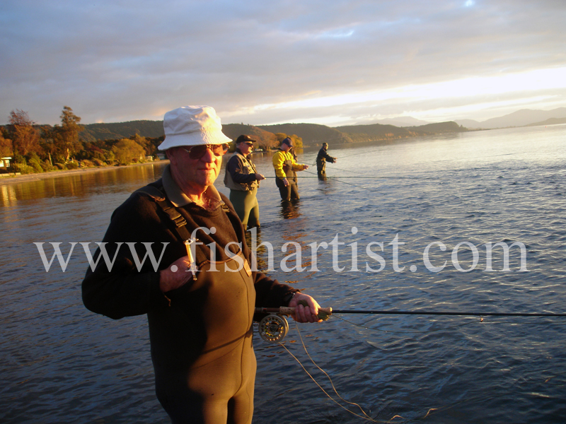Bill. - Fishermen of Taupo.