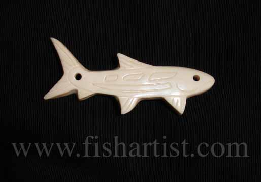 Northwest Indian Bonefish. - Fishing Bone Carvings.