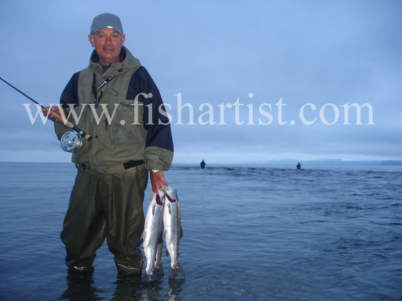 Chris. - Fishermen of Taupo.