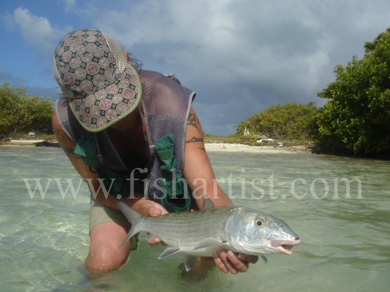Bonefish Photo - Trophy Bonefish. - Bonefish & Tarpon.