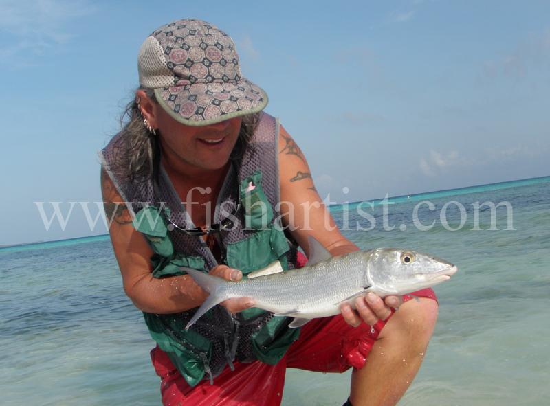 Caught Bonefish 2010. - Bonefishing 2010.