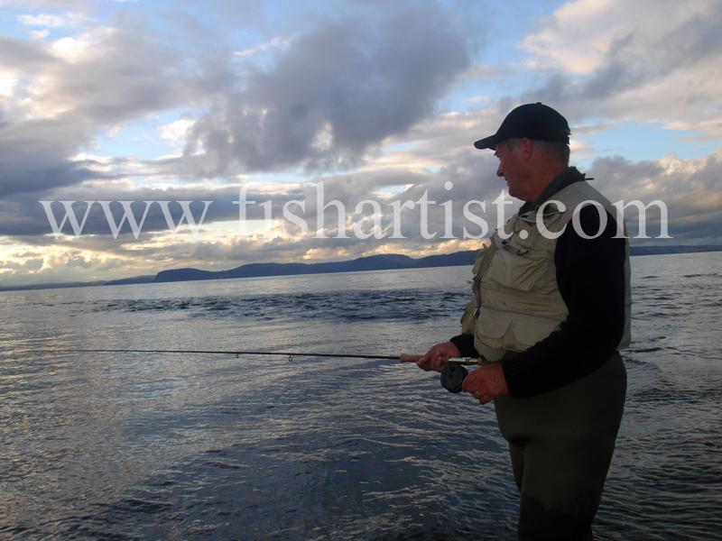 Geoff. - Fishermen of Taupo.