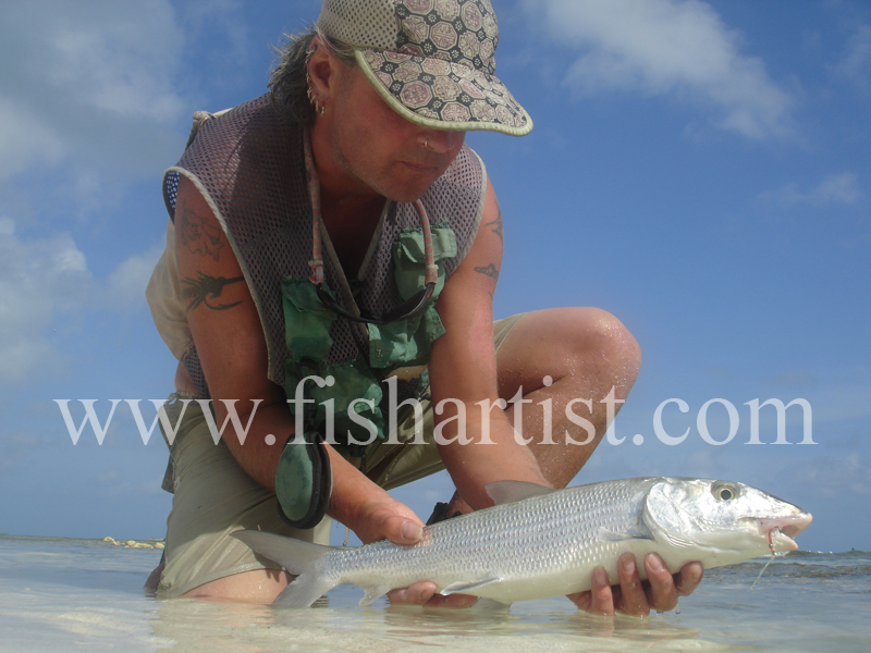 Bonefish Photo - A Joy. - Bonefish & Tarpon.