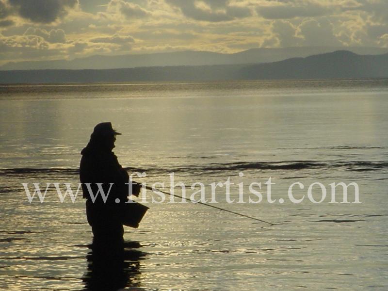 Dave. - Fishermen of Taupo.