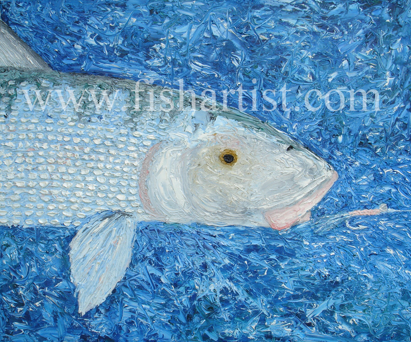 A Bonefish for Bonefishermen. - Fish Art for Fishermen.