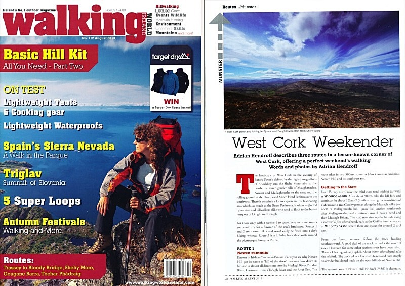 'West Cork Weekender' - Walking World Ireland No.112 - In the media