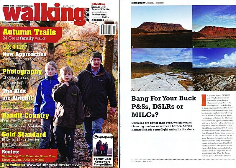 'Bang For Your Buck' - Walking World Ireland No.109 - In the media