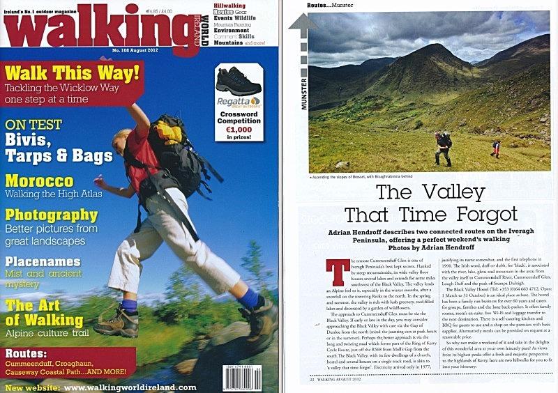 Adrian Hendroff Iveragh Peninsula Walking World Ireland