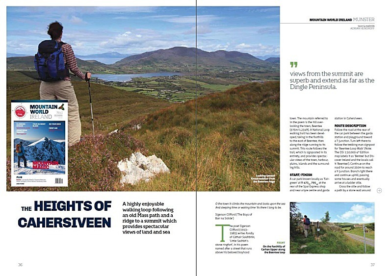 'The Heights of Cahersiveen' - MWI No.1 Annual 2014/15 - In the media