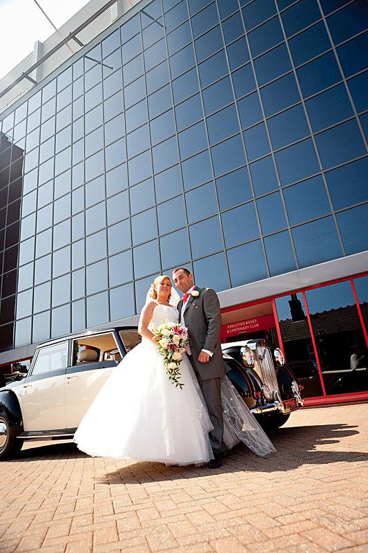Wedding Liverpool Photographer Fenita Photography Studio Football Club - Wedding