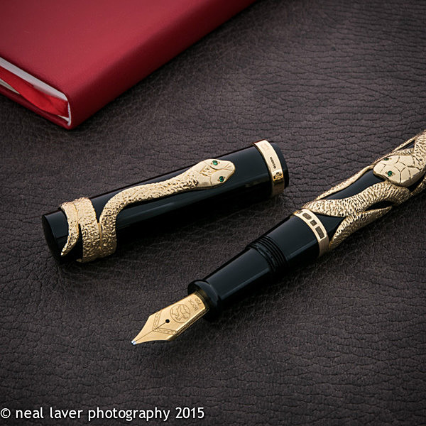 - The 2015 Snake Pen... 18ct Gold!
