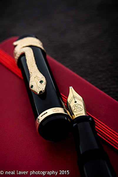 - The 2015 Snake Pen... 18ct Gold!