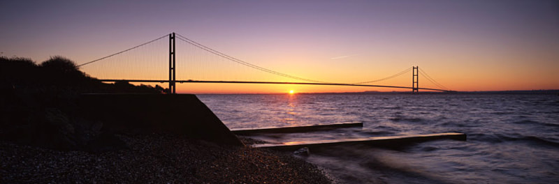 Sunrise, Humber Bridge - East Yorkshire