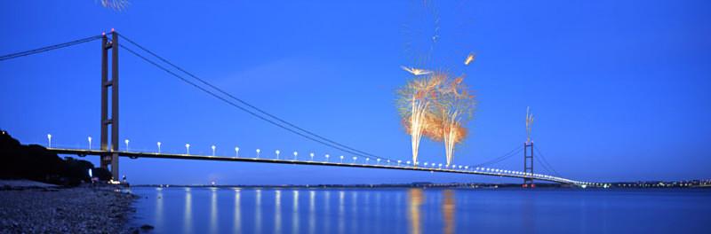 25th Anniversary Humber Bridge - East Yorkshire