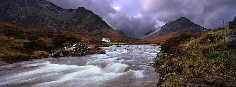 Approaching Storm Glencoe - Scotland