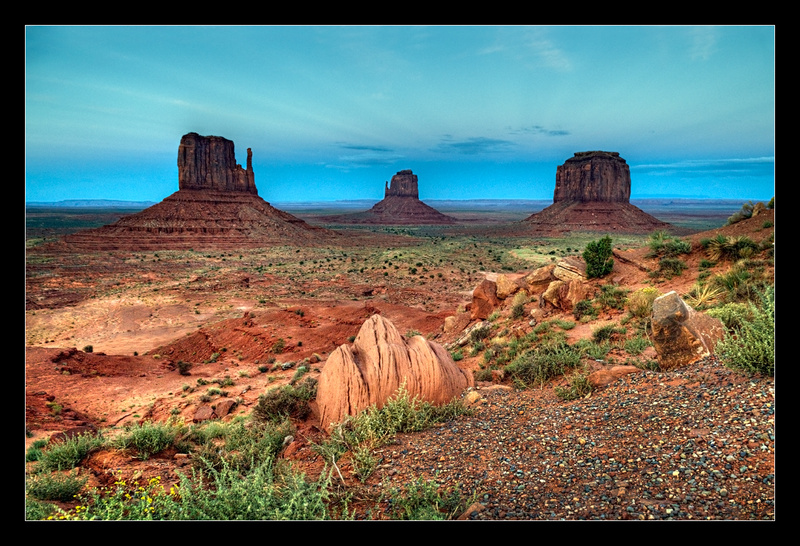 Monument Valley Overlook - Landscapes